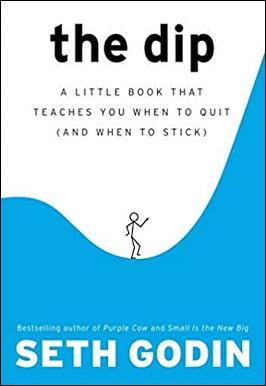1-شیب: کتاب کوچکی که به شما یاد می دهد چه موقع کار را ول کنید (و چه موقع به کار بچسبید)