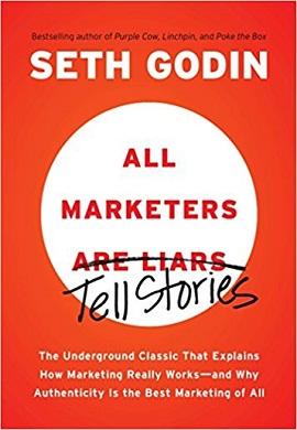 1-تمام بازاریاب ها دروغ گو هستند نه، داستان تعریف می کنند