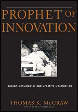1-آموزگار نوآوری : شومپیتر و تخریب خلاقانه