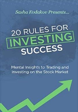 1-20 قانون برای سرمایه گذاری موفق : نگرش ذهنی به تجارت و سرمایه گذاری در بازار سهام