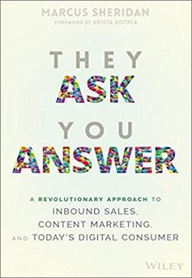1-آن ها می پرسند، شما پاسخ دهید: رویکردی تحول آور به فروش درون گرا، بازاریابی محتوایی و مصرف کننده دیجیتالی امروز