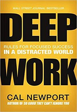1-کار عمیق : قوانینی برای تمرکز در دنیایی آشفته